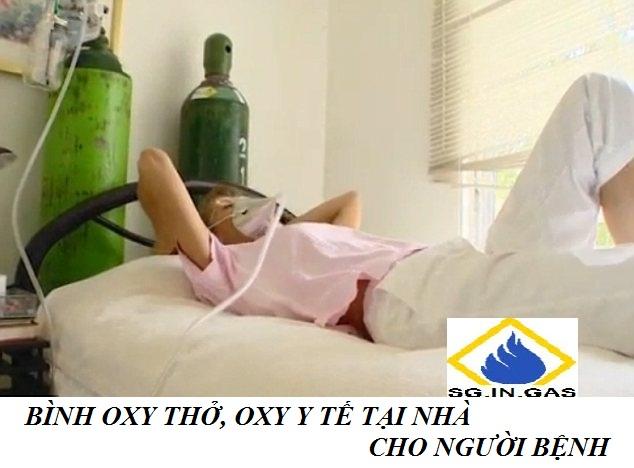 Bình dưỡng khí oxy tại nhà