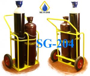 xe đẩy bình khí công nghiệp