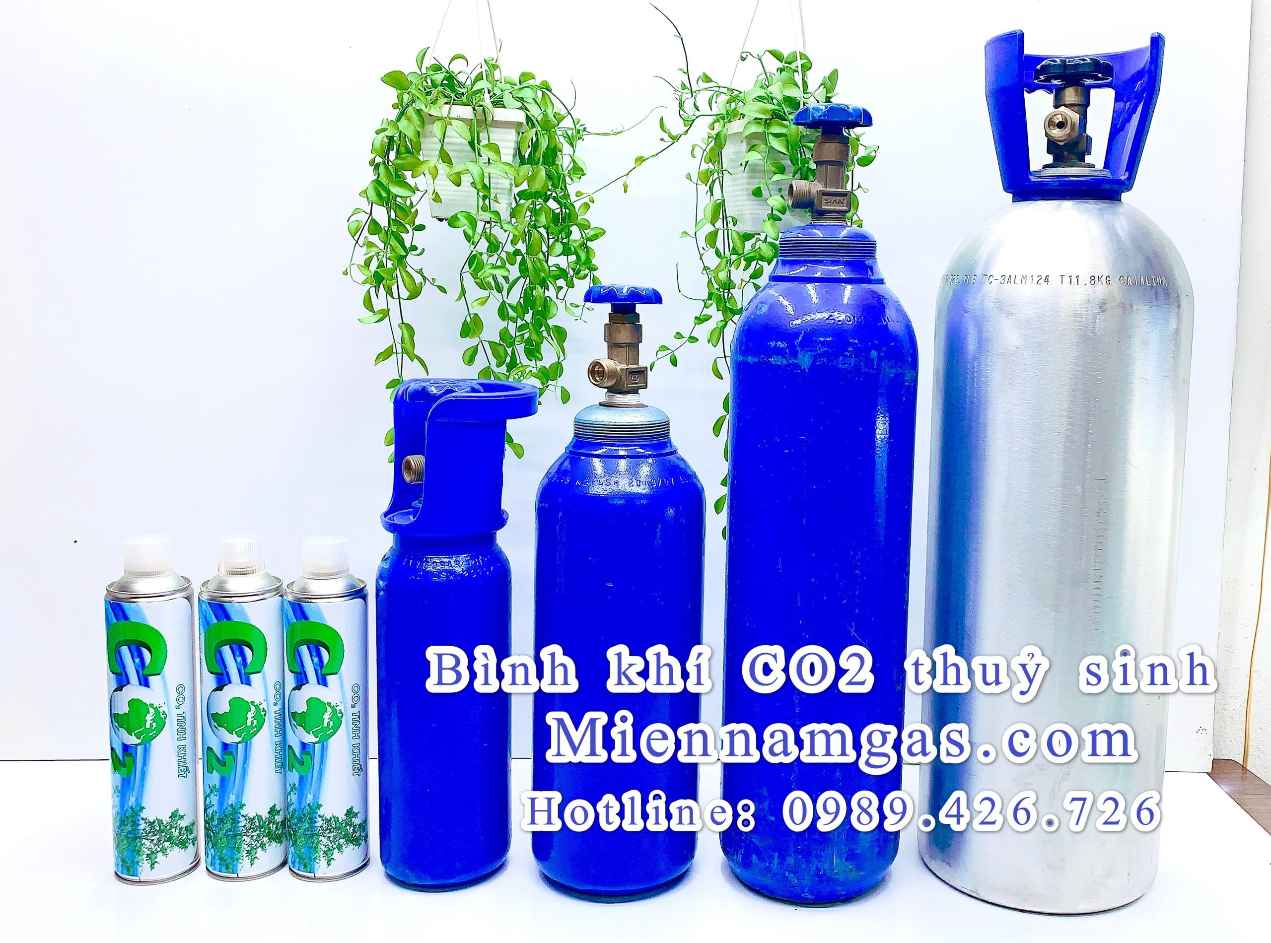 Bán bình khí CO2 thủy sinh