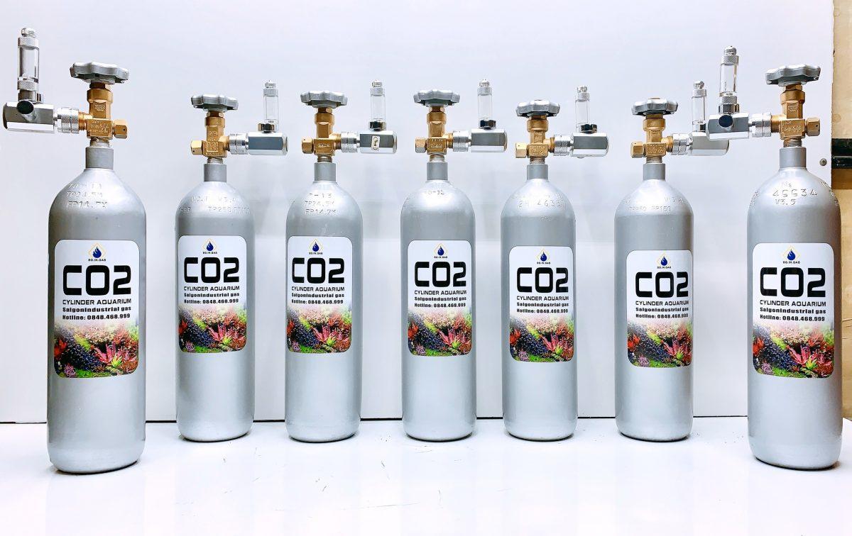 BÌNH CO2 THỦY SINH 3KG